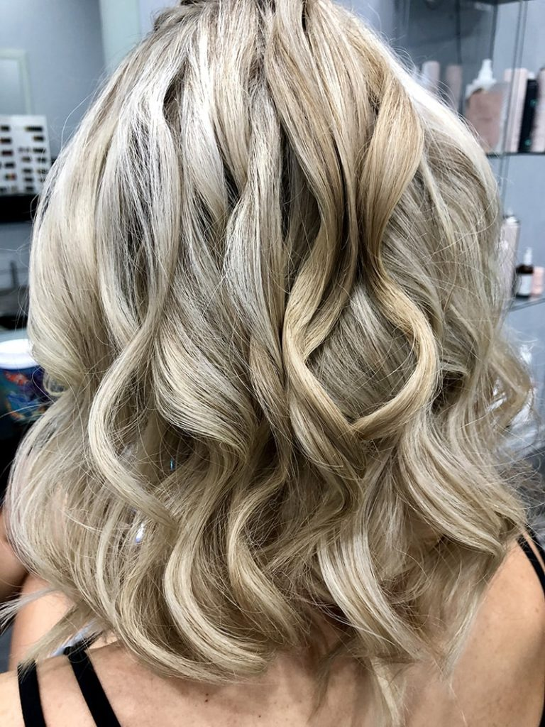 Hair Styling Curls